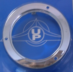 United Pacific 10500 Chrome Mounting Bezel